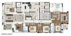 Maison Heritage | Dúplex 862m² | Ecoville | Curitiba
