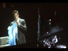 Il Divo en Buenos Aires 19/10/12 - David hablando y No llores por mi Argentina