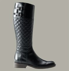 Burberry Quilted Riding Boot