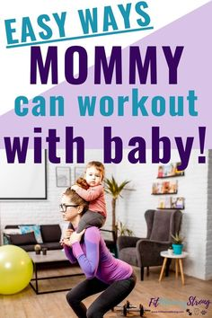 Easy ways to find time to get that mommy workout in, especially if you have a baby or multiple little ones running around! New Mom Workout, After Baby Workout, Sensory Activities, Infant Activities, Fit Board Workouts, At Home Workouts, Mom And Baby, Mommy And Me, Swimming Classes
