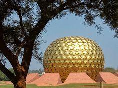 Auroville , Pondicherry , India.