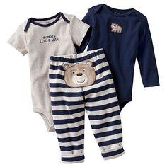 Carter's Bear Turn Me Around Bodysuit Set - Baby