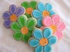 flower sugar cookies - Google Search