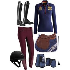 HV POLO #1 - Polyvore ... super chic for schooling days