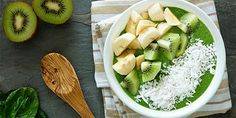 Super food green angel smoothie bowl - ALMOST too pretty to eat <3 Almost ...
