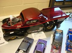 Large scale Willys Pro Mod race car