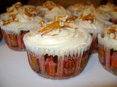 Strawberry Pretzel Cupcakes!