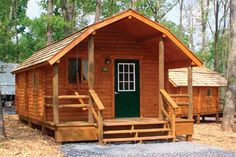 Log Cabin Packages 14x20 Deluxe Kamping Kottage