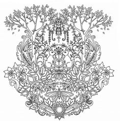 Cheap Books For Children Buy Quality Coloring Book Directly From China Painting Drawing Suppliers 24 Pages Enchanted Forest English Edition