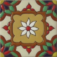 Spanish Mexican Tile RVL Carpeta-B by Casablanca Market. $7.09. Spanish Tiles. Can be made frost proof. Handmade. Hand painted. The ceramic tiles in High Relief are too special because they're elegant and simple, yet the colors and measurements can have a small variation because of their handmade process by true artisans. Delivery on these tiles may take up to 2 weeks.