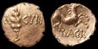 Catuvellauni - Agr- Horse Gold Quarter Stater
