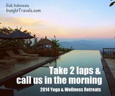 Yoga & Wellness Retreat in Bali.  InsightTravels.com