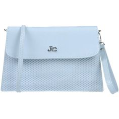 J&c Jackyceline Handbag (2 145 UAH) ❤ liked on Polyvore featuring bags, handbags, sky blue, leather hand bags, genuine leather handbags, leather handbags, sky blue handbag and real leather purses