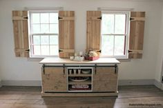 Good Interior Cedar Shutters Feature By Pretty Handy Girl   DIY Projects