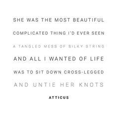 'Knots' @atticuspoetry #atticuspoetry #atticus #poetry #poem #quote #words #love #adventure #beautiful #complicated artwork: @lairenholub