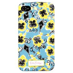 Lilly Pulitzer iPhone 4/4S Case - Kappa Alpha Theta Sorority.......GIVE ME!