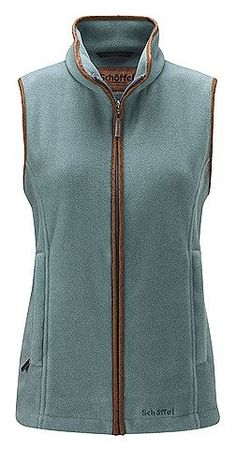 Schoffel Lyndon Fleece Gilet Duck Egg £114.95