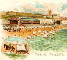 Vintage Seaside Postcard