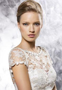 #mikado #guipur #novia i#ValerioLuna Dresses, Wedding Dresses, Party Dresses, Brides, Vestidos, Dress, Dressers, Flower Girl Dress, Gowns
