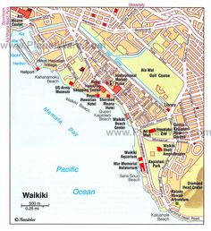 Waikiki Map 10 Top Rated Tourist Attractions In Honolulu Hawaii