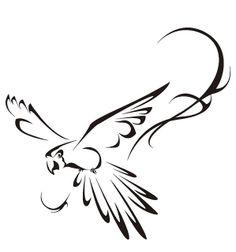arara tattoo designs | Tattoo Arara (Vetor) | Flickr - Photo Sharing!
