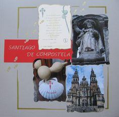 """Hoja """"Santiago de Compostela"""""""