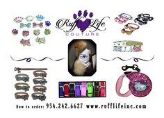 For your fur baby ... Many styles to choose from. Use coupon code PAWS20 for 20% off @ Rufflifeinc.com