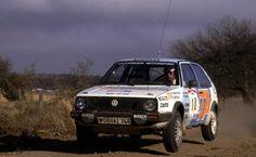 Kenneth Eriksson - Pieter Diekmann 6th Marlboro Rally of Argentina 1986 (Volkswagen Golf GTi)