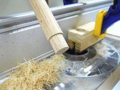 Dowel Tenoning Jig / Gabarit pour tenons sur goujons (tourillons)   Atelier du Bricoleur (menuiserie)…..…… Woodworking Hobbyist's Workshop