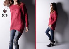 #redpassion for this warm pull - we love vintage idea inspired by old #boots