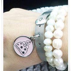 Heart Charm, Charmed, Bracelets, Jewelry, Fashion, Hands, Handmade, Moda, Jewels