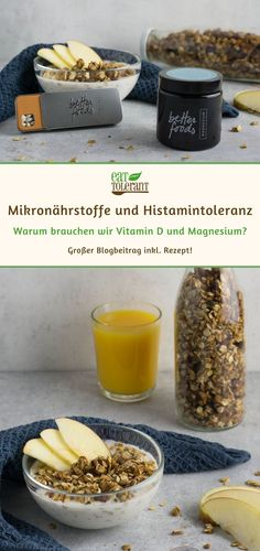 Vitamin D und Magnesium Mangel Magnesium, Vitamin D, Cereal, Cupcakes, Foodblogger, Breakfast, Quick Recipes, Glutenfree, Easy Meals