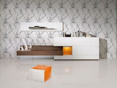 David Moreno- Salón contraste Naranja. David Moreno Interiores, estudio de interiorismo en Valencia #interioristas #interiorismo #decoracion #decoradores #deco #decor #interior #designer