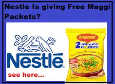 Nestle Is giving Free Maggi Packets As A Part Of Its 'MAGGI Wrappers Return' Initiative,it's brand strategy Snack Recipes, Snacks, Business Branding, Giving, Cereal, Chips, Models, Breakfast, Free