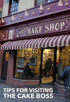 Our guide to visiting Carlos Bake Shop, home to the Cake Boss-- and how to get there from NYC.
