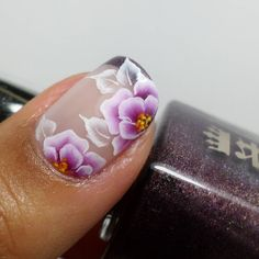 spring nail art that are amazing. Spring Nail Art, Nail Designs Spring, Cool Nail Designs, Spring Nails, Uñas One Stroke, One Stroke Nails, Manicure Colors, Nail Manicure, Nail Atelier