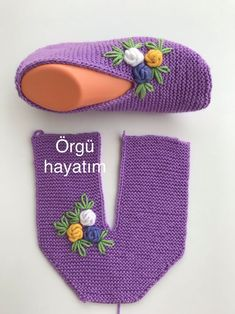 - Tricot - Hausschuhe stricken - – Tricot Informations About - Crochet Slipper Pattern, Knitted Slippers, Crochet Slippers, Baby Knitting Patterns, Knitting Stitches, Crochet Patterns, Easy Knitting, Knitting Socks, Knitting Projects