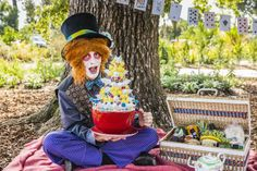 """Come and be part of a regional food wonderland in the shade of the Bendigo Botanic Gardens, where Central Victoria's local food network Food Fossickers presents """"A Picnic with the Mad Hatter""""."""