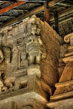 Ek Balam- Winged Maya Warriors México