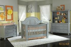 Baby S Dream Vintage Gray Grey Nursery Furniture Kids