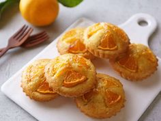 冬の味覚「ミカン」がおしゃれに変身! たった30分でつくれるミニケーキがおいしくて感激