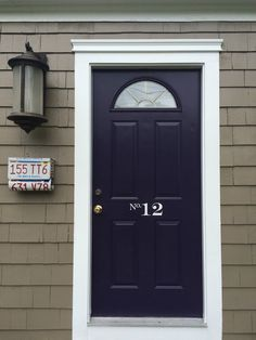 Vinyl Door / Mailbox Address Sticker by LoveCol on Etsy
