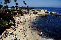 California Image - La Jolla Cove dotted, California - Lonely Planet