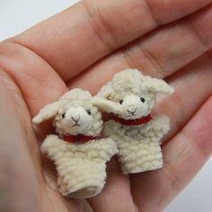 Miniature lambs ♡ ♡ by Nao Colle