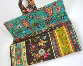 Make It Yourself - Carry All Tri Fold Wallet with 15 Pockets PDF Sewing Pattern with Full size pattern pieces
