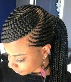 African Hair Braiding Styles African Hairstyles for Lady African American Braids for Red Hair Braid Styles for Black Women African American Braided Hairstyles Braided Ponytail Hairstyles, African Braids Hairstyles, Twist Hairstyles, African Braids Styles, African Hair Braiding, Cornrow Braid Styles, Ghana Braid Styles, Cornrows Updo, Ponytail Braid Styles