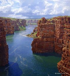 The Kimberley, Western Australia - Oil Painting by Andrew Tischler Beautiful Sites, Beautiful Places, Beautiful Scenery, Landscape Art, Landscape Paintings, Australian Painting, Australian Artists, Pixel, Nature