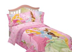 Disney Dainty Princess Microfiber Sheet Set           ($19.88)