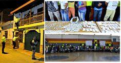 Los capturados son sindicados por homicidio, concierto para delinquir y tráfico de estupefacientes.