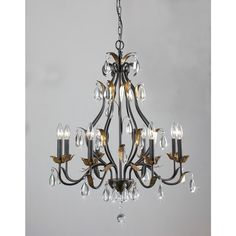 Shop for Adhafera 8 Light Candle Chandelier. Get free delivery at Overstock - Your Online Ceiling Lighting Store! Get in rewards with Club O! Bronze Chandelier, Candle Chandelier, 5 Light Chandelier, Candelabra Bulbs, Cheap Chandelier, Rustic Chandelier, Pendant Lighting, Be Design, Large Chandeliers